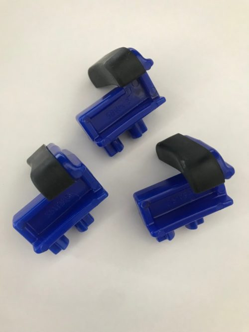 Blue wide sliders